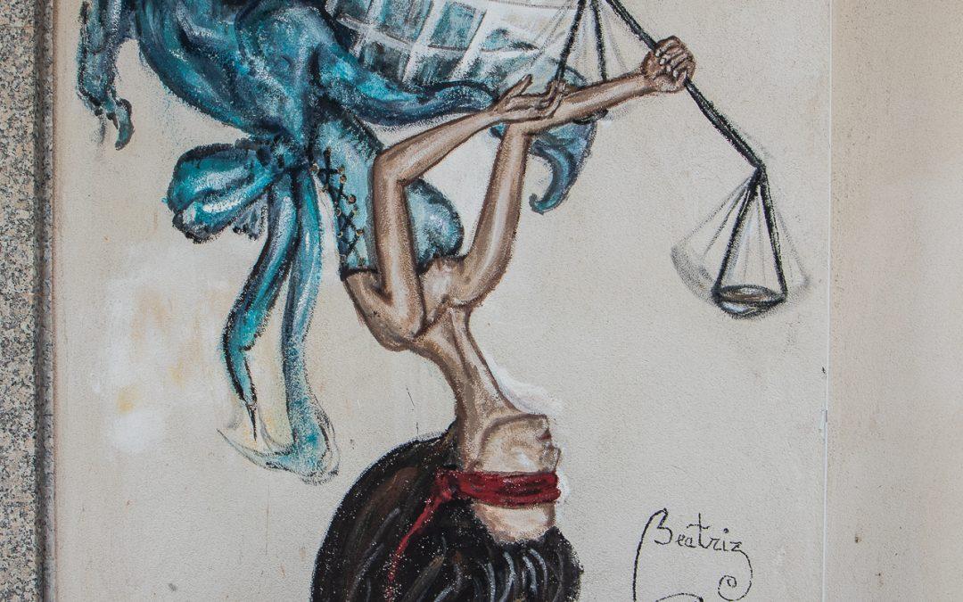 Para que dios nos libre de la justicia